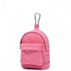 JOLUCY Mały plecaczek bilonówka różowy