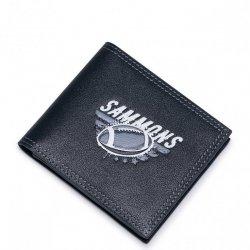 SAMMONS Krótki portfel rugbisty Granatowy