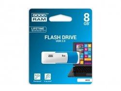 PENDRIVE GOODRAM 8GB FLASH DRIVE UC02 USB 2.0