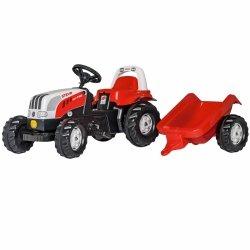 Rolly Toys rollyKid Traktor na pedały Steyr z przyczepą