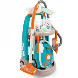Smoby Wózek do sprzątania z akcesoriami