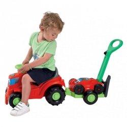 Ecoiffier Traktor odpychacz Jeździk z Kosiarką