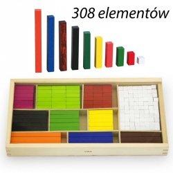 Drewniane Patyczki Edukacyjne Matematyczne do Nauki Liczenia Viga Toys