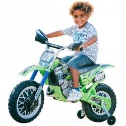 Kawasaki Motor Elektryczny Cross 6V Ciche koła Injusa