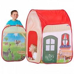 NAMIOT Domek Farma dla dzieci + Figurka Schleich John