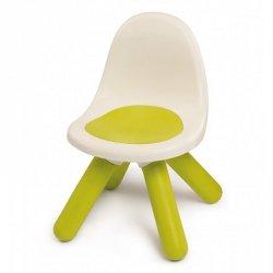 Krzesełko z oparciem Smoby w kolorze zielonym