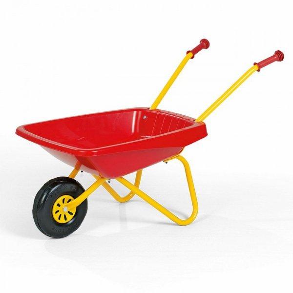 Taczka dla dzieci Czerwona ogrodowa Rolly Toys
