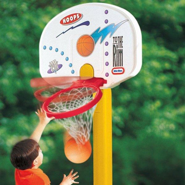 Little Tikes Duża koszykówka dla dzieci składana