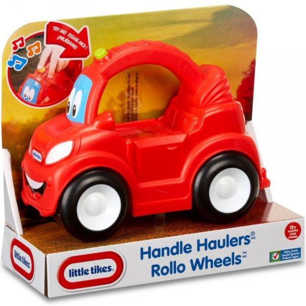 Little Tikes Pojazd z Uchwytem Rollo Wheels Czerwony Dźwięk