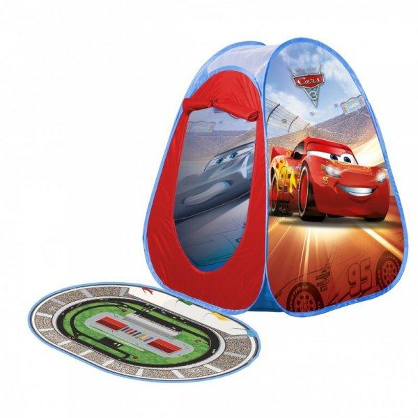 John Namiot Samorozkładający Cars 3 Auta z dywanikiem