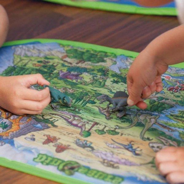 NAMIOT Domek dla dzieci z dywanem + 2 Figurki Schleich John