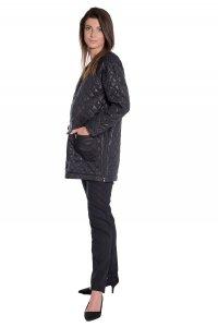 Kurtka ciążowa pikowana płaszcz 3716