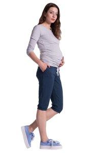 Spodnie ciążowe rybaczki 3815
