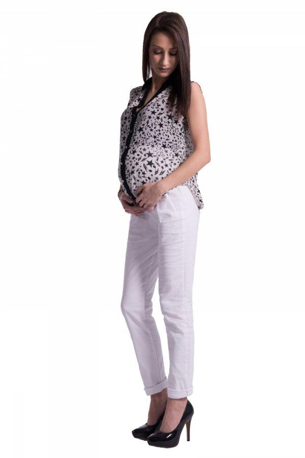 Spodnie ciążowe rurki 1118