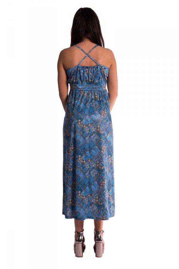 Długa sukienka ciążowa 3549