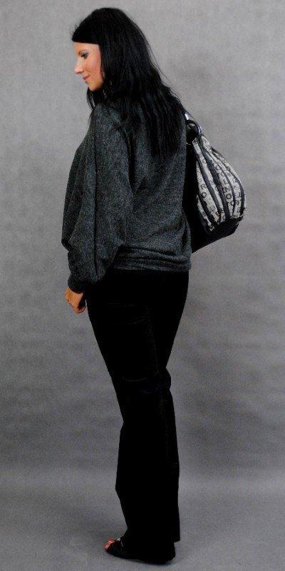 Sweter na jesień kimono ciążowe 0975