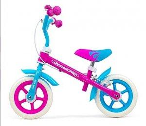 Milly Mally Rowerek biegowy Dragon z hamulcem Candy #B1