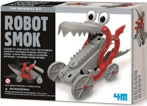 ROBOT SMOK MECHANIKA I ZABAWA 4M