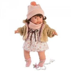 Hiszpańska lalka dziewczynka Pippa - płacze 42cm  #T1