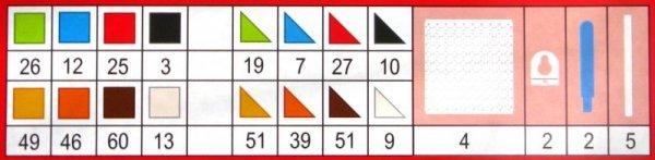 UKŁADANKA DUŻE PLASTIKOWE PUZZLE 6 IN 1 ZWIERZĄTKA AŻ 420 EL