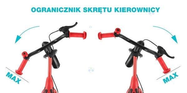 ROWEREK BIEGOWY DRAGON Z HAMULCEM NIEBIESKI #B1