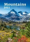 Kalendarz ścienny wieloplanszowy Mountains 2021 - okładka