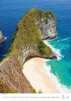 Kalendarz ścienny wieloplanszowy Tropical Beaches 2021 - maj 2021