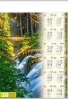 Kalendarz plakatowy B1/05 LEŚNY POTOK 2022