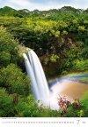 Kalendarz ścienny wieloplanszowy Waterfalls 2021 - lipiec 2021