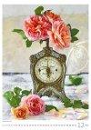 Kalendarz ścienny wieloplanszowy Magic Flowers 2021 - grudzień 2021