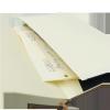 Notes A6 papier chamois w linie - kieszonka papierowa