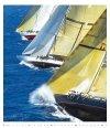 Kalendarz ścienny wieloplanszowy Sailing 2022 - exclusive edition - luty 2022