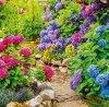Kalendarz ścienny wieloplanszowy Gardens 2022 z naklejkami - czerwiec 2022