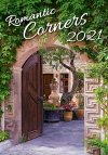 Kalendarz ścienny wieloplanszowy Romantic Corners 2021 - okładka