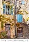 Kalendarz ścienny wieloplanszowy Provence 2021 - październik 2021