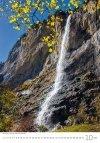 Kalendarz ścienny wieloplanszowy Waterfalls 2021 - październik 2021
