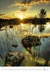 Kalendarz ścienny wieloplanszowy Nature Emotions 2021 - sierpień 2021