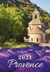 Kalendarz ścienny wieloplanszowy Provence 2021 - okładka