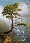Kalendarz ścienny wieloplanszowy Trees 2021 - okładka