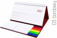 Kalendarz biurkowy MIDI tygodniowy 2021