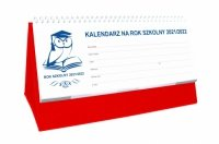 Kalendarz biurkowy szkolny PREMIUM