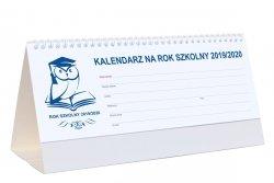 Kalendarz biurkowy poziomy tygodniowy na rok szkolny 2019/2020