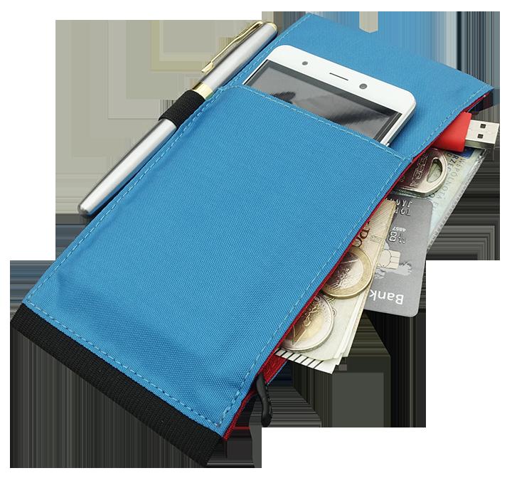 Organizer na kalendarz w kolorze niebieskim
