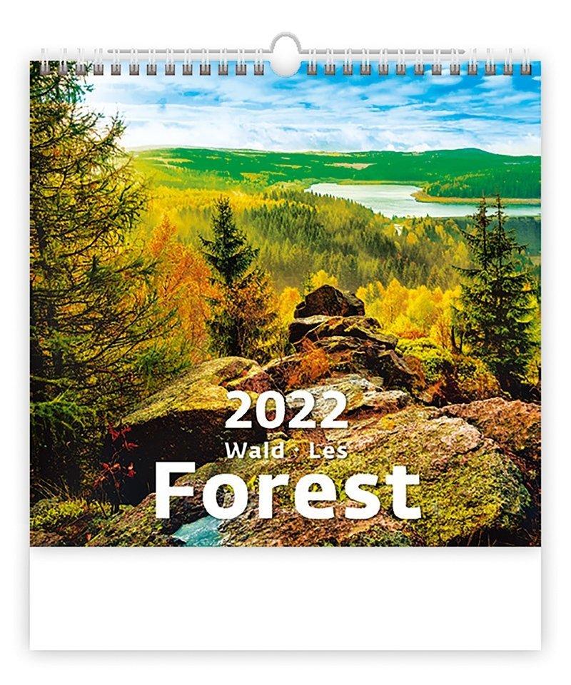 Kalendarz ścienny wieloplanszowy Forest 2022 - okładka
