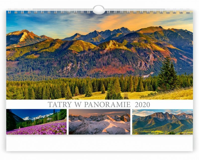 Tatry w panoramie 2020 - okładka