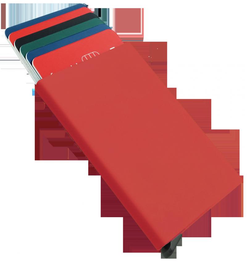 Etui na karty kredytowe czerwona