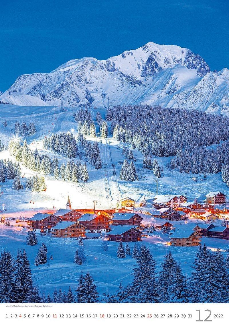 Kalendarz ścienny wieloplanszowy Alps 2022 - grudzień 2022
