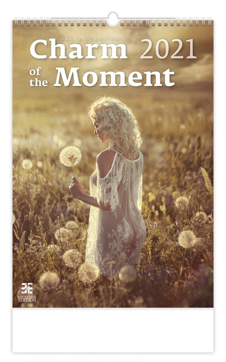 Kalendarz ścienny wieloplanszowy Charm of the Moment 2021 - exclusive edition - okładka