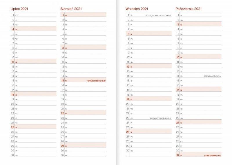 Kalendarz nauczyciela na rok szkolny 2021/2022 plan roku szkolnego