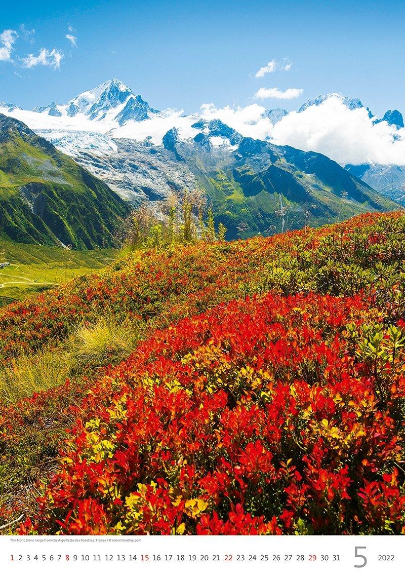 Kalendarz ścienny wieloplanszowy Alps 2022 - maj 2022